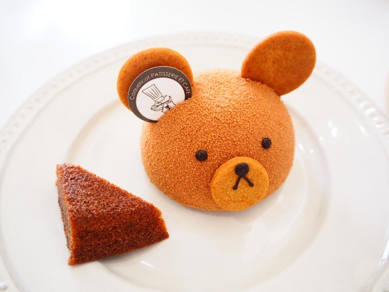 コクリコのクマさんのケーキ