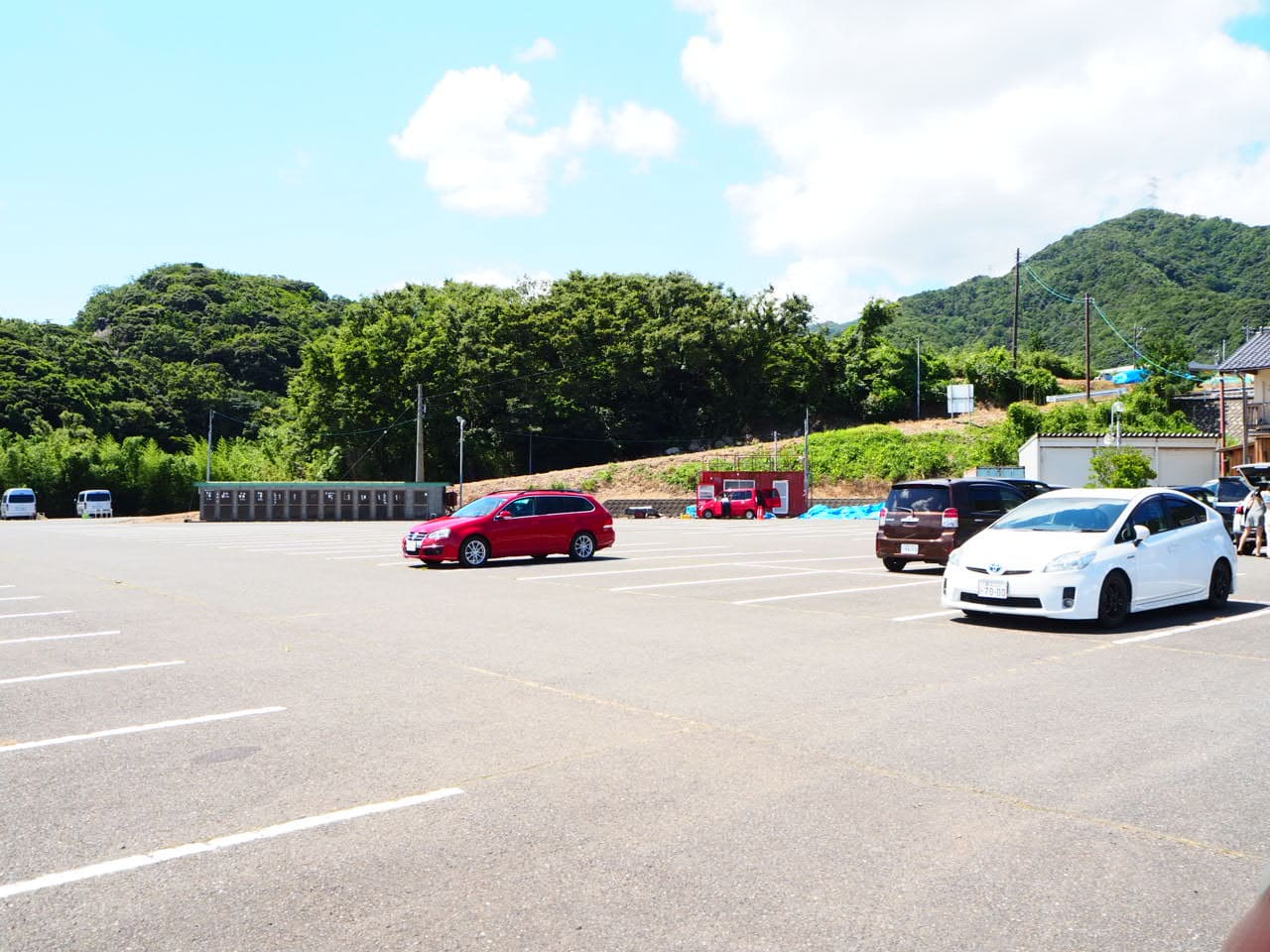 水島の駐車場