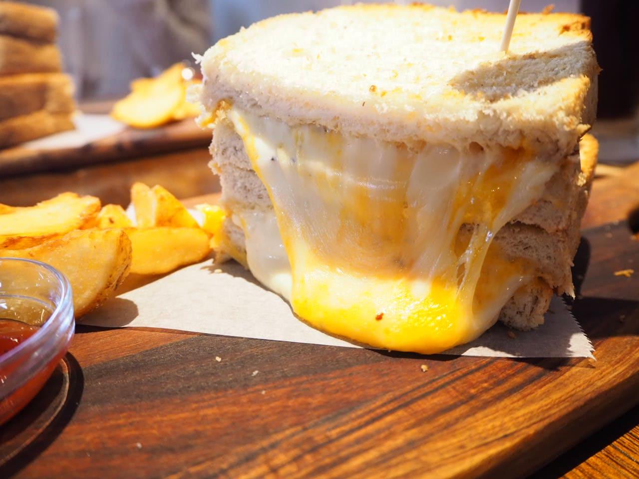 リバティサンドのチーズサンド