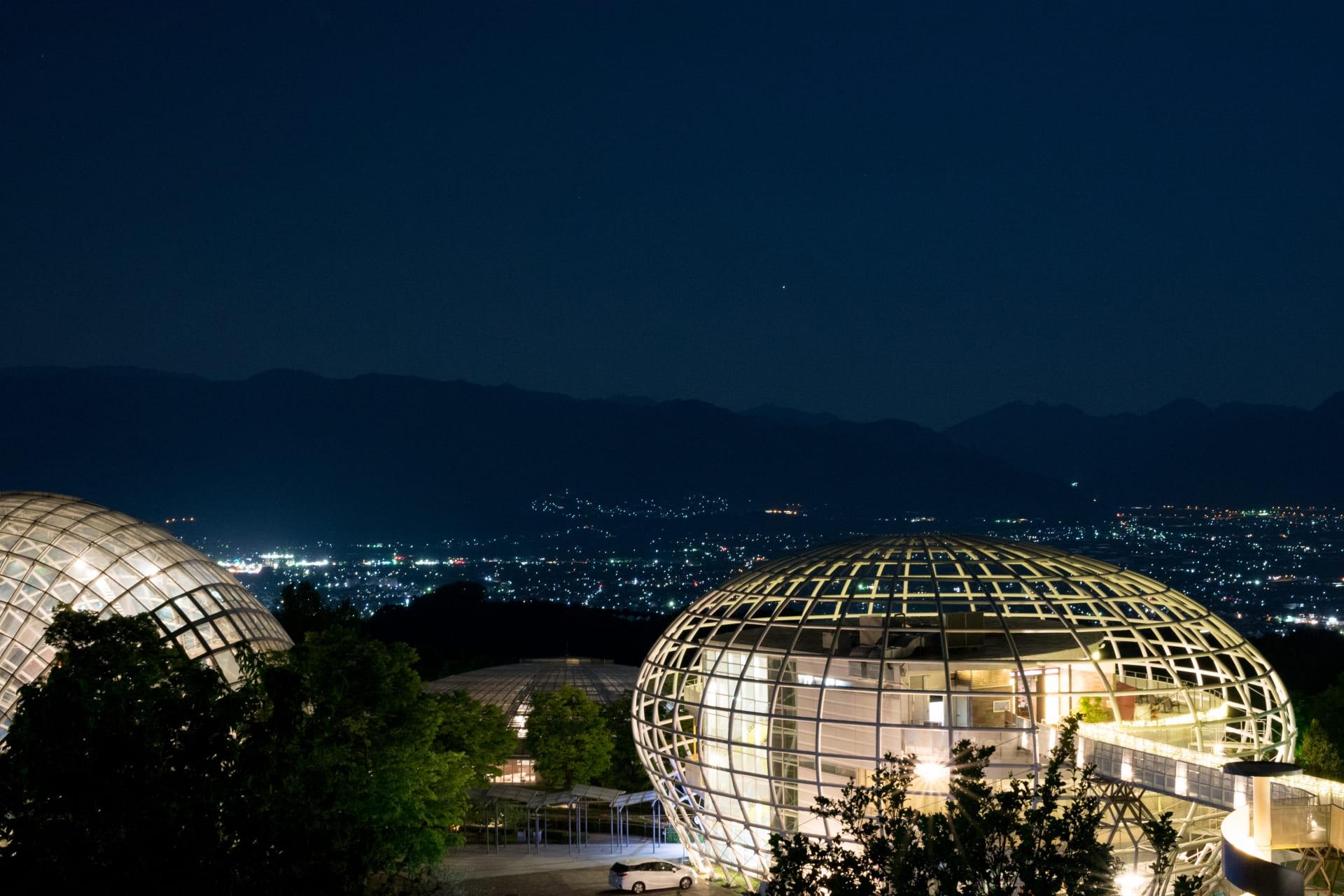 フルーツ公園の夜景