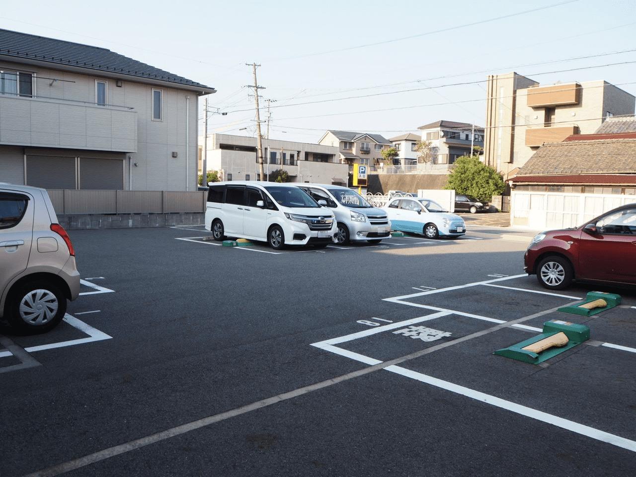 幸田駅前銀座駐車場
