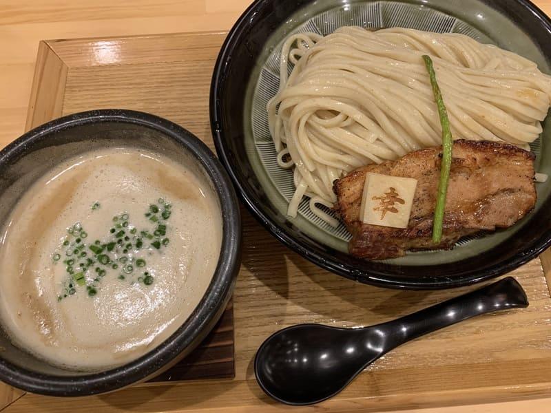 幸先坂の厚切り焼き豚つけ麺