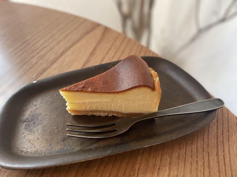 喫茶hirayaのチーズケーキ